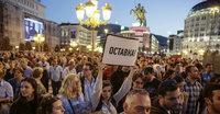 Bunte Revolution in Skopje
