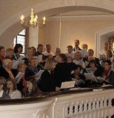 Kirchenchor und Musikverein Ebringen in der Pfarrkirche St. Gallus