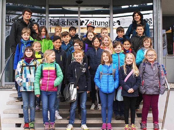 Klasse 4b der Kastellbergschule Waldkirch
