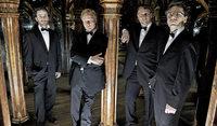 Zemlinsky-Quartett und Mitglieder des Praz�k-Quartetts in Badenweiler