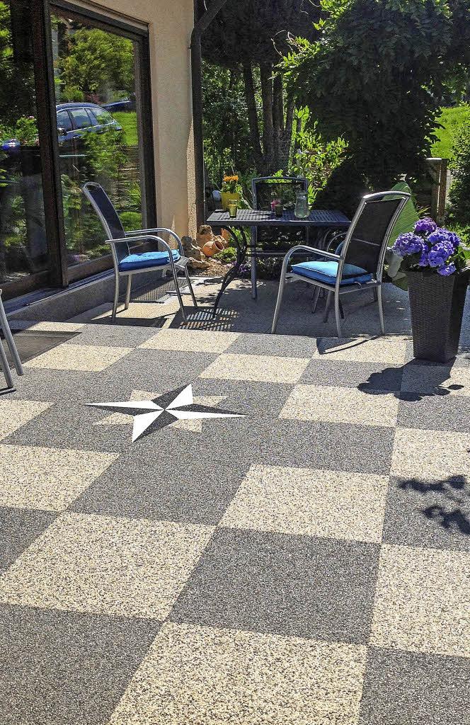 teppich aus stein haus garten badische zeitung. Black Bedroom Furniture Sets. Home Design Ideas