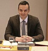Erik Weide leitet erste Sitzung