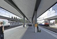 Neuer Bahnhof f�r Liestal