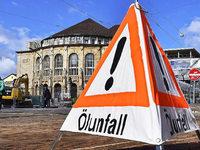 Ausgerechnet: Freiburger Stadtreinigung saut Altstadt ein