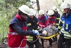 Der 14. Elzacher Notfalltag von Medizinstudenten, �rzten, Feuerwehr und Rotem Kreuz