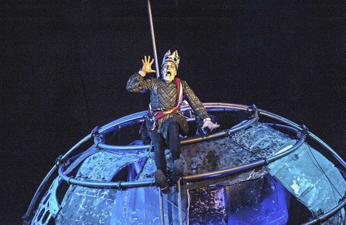 """Herr Macbeth oder die Schule des Bösen"""" am Basler Vorstadttheater ..."""