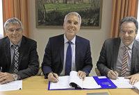 Unterschrift f�r Erdgas