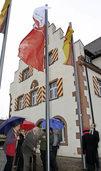 Friesenheim und Heiligenzell zeigen Flagge f�rs Jubil�um