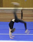 Akrobatisch und t�nzerisch pr�sentierte Berufsw�nsche