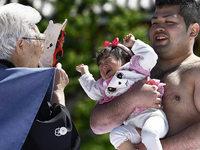 Fotos: Schreiende Babys beim Konaki Sumo