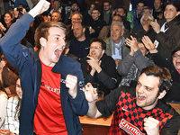 Aufschrei in Freiburg: Die Fans bejubeln den Aufstieg