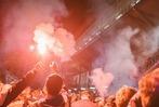 Fotos: So haben die Fans die Spieler am Dreisamstadion empfangen