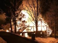 Bauernhof in Todtmoos brennt komplett aus
