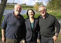 Regierungspr�sidentin B�rbel Sch�fer besucht Angelverein Lahr-Kinzigtal