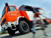 Feuerwehr �bt Stresssituationen im Stra�enverkehr