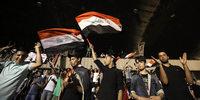 Tumulte in Bagdad
