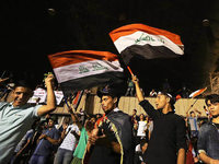 Tumulte im Regierungsviertel in Bagdad