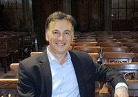 Andreas Leibig spielt Bach und Messiaen in der Barockkirche in St. Peter
