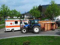 Nach Mai-Unfall mit Traktoranh�nger ermittelt die Polizei
