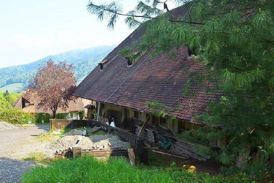 Der letzte Blick auf den Rotburenhof. (Foto: Kathrin Blum)