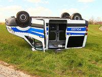 Treckerfahrer schrottet absichtlich zehn Autos