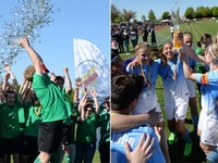PTSV Jahn Freiburg und SV Mundingen feiern Pokaltriumph