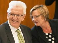 CDU stimmt Gr�n-Schwarz zu - Sitzmann Finanzministerin?