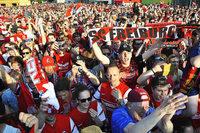 Fotos: So feiert der SC Freiburg die Meisterschaft