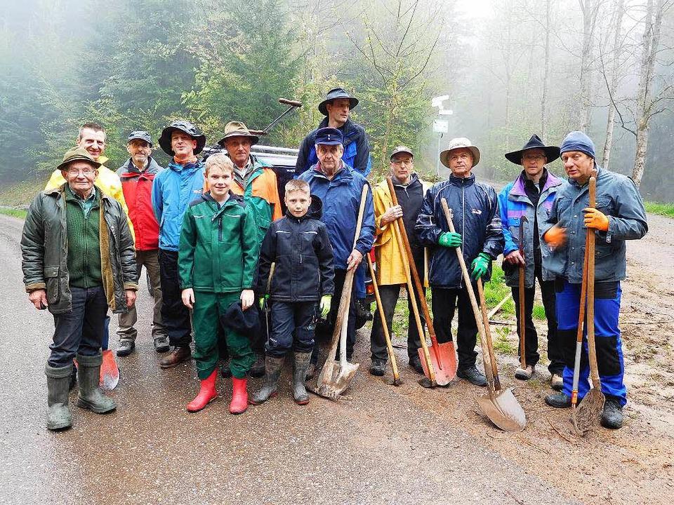 Wanderer und Radfahrer haben sich in B...zu pflegen – für beide Gruppen.   | Foto: Maria Wangler