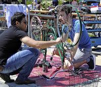 Fahrradmarkt wird Integrationsfest