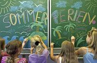 Wenn die Schulen im Sommer schlie�en