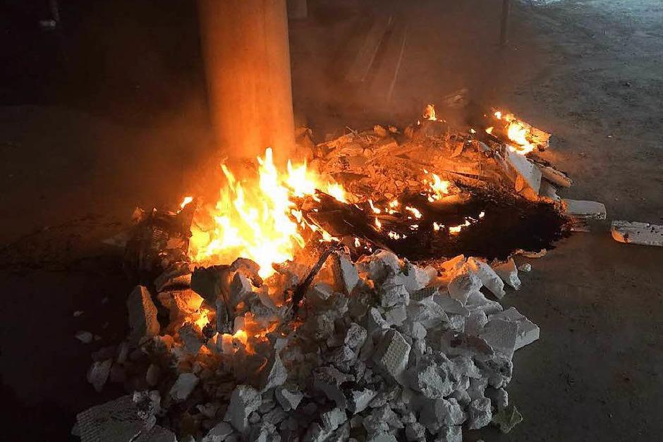 Am Mittwochabend hat es in den Beck-Arkaden gebrannt. (Foto: Werner Beck)