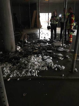 Am Mittwochabend hat es in den Beck-Arkaden gebrannt.