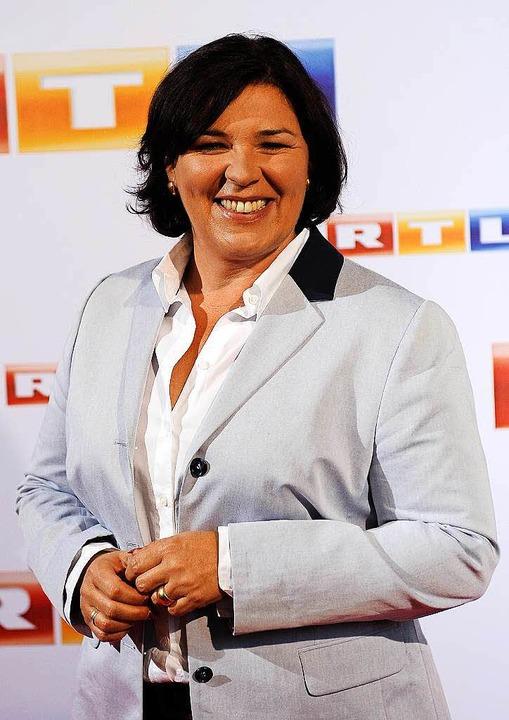 Die RTL-Moderatorin Vera Int-Veen  | Foto: dpa