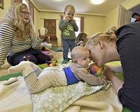 Beim Krabbeltreff Liebfrauen in G�nterstal gibt's Gemeinschaft f�r Eltern und Kinder
