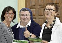 Die coole Ordensschwester Teresa war im Europapark zu Gast