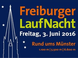 Rund ums Münster: Es ist wieder Freiburger Laufnacht