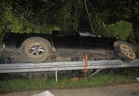Suchaktion nach Unfall – Fahrzeug ohne Insassen
