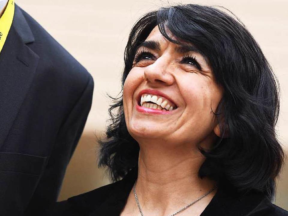 Landtagspräsidentin mit Symbolwirkung: Muhterem Aras.  | Foto: dpa