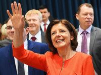 Rheinland-Pfalz: Dreyer im ersten Wahlgang erfolgreich
