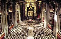 Dokumente, Fotos und Erl�uterungen zum Zweiten Vatikanischen Konzil ind in der Martinskirche Freiburg zu sehen