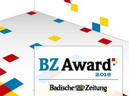 Die Teilnahmebedingungen f�r den BZ Award 2016