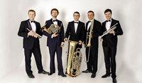 Das Brass Quintett Kiew Academy spielt in der Kornhalle