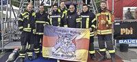 Feuerwehrleute im H�rtetest