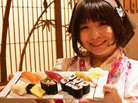 Japanerinnen wollen die M�nnerbastion Sushi knacken