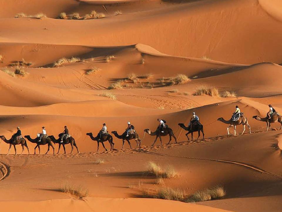 Ein Gottesstaat mitten in der Wüste?    Foto: Wolfgang Grabherr