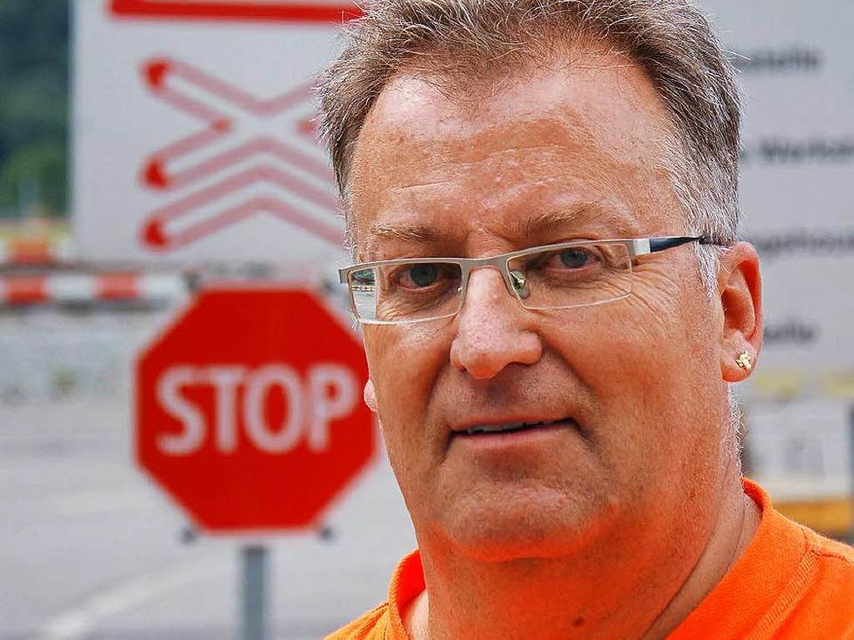 Bahningenieur Charly Simmen    Foto: franz schmider