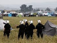Fl�chtlingslager in Idomeni wird ger�umt
