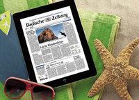 BZ-SERVICE: Abo-Urlaubsservice mit Dankeschön
