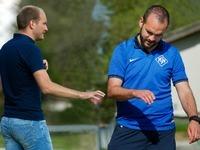 Klaus und Benjamin Gallmann trainieren Neustadt gemeinsam